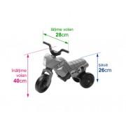 Tricicleta fara pedale Enduro Mini negru-albastru