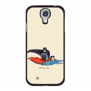 Y&M Samsung Galaxy S4 Cell Phone Case Batman And Super Man Pattern Cover (Multicolor)