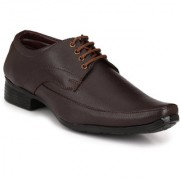 Knoos Men'S Synthetic Leather Classy Lace-Up Formal Shoes