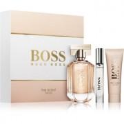 Hugo Boss Boss The Scent lote de regalo V. eau de parfum 100 ml + crema corporal 50 ml + eau de parfum 7,4 ml