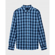 GANT Teen Boys Windblown Plaid Shirt - 441 - Size: 4XL (16 YRS)