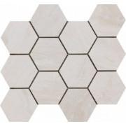 Mozaic Ceramic Hexagonal Sintesi, Nepal Beige 34x30 cm -MHSNB300340