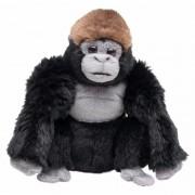 Geen Pluche gorilla knuffels 18 cm