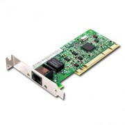 LAN Card, PCI, Intel PRO/1000 GT, Gigabit, Low Profile, Bulk (PWLA8391GTLBLK)