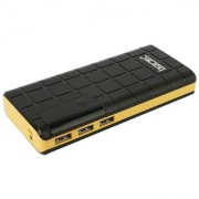 Lionix Check Box 3 USB Port 15000 Mah Power Bank(Black Yellow)Suitable For Lenovo Oppo Vivo Redmi Samsung Smartphones