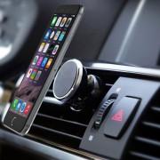 Gear Air vent Universele Magneet Autohouder Voor Auto Ventilatierooster houder zwart Geschikt o.a. voor uw iPhone 4 / 4S / 5 / 5S / 6 / 6S / 6S Plus , Samsung Galaxy S5 S6 S7 Edge, HTC, Nokia, Huawei, LG, Sony etc.