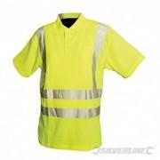"""Reflexní polo tričko Třída 2 - M 92-100cm (36-39"""") 598514 5055058173515 Silverline"""