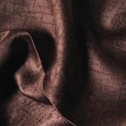 Sötétítő, dekor függöny anyag, FORNOVO, 304 barna