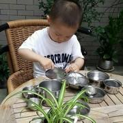 Celendi 25 Pcs/Set Set Kids Cook Pretend Role Toys Cookware Cooking Accessory, Pots Pans Gift