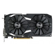 VGA Asus Dual series Radeon RX 580 4GB, AMD RX580, 4GB, do 1360MHz, DP 2x, DVI-D, HDMI 2x, 36mj (Dual-RX580-4G)