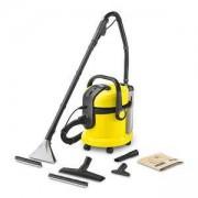 Перяща прахосмукачка Karcher SE4001, мокро и сухо почистване, Жълт