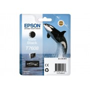 Epson T7608 Inktcartridge Foto high capacity 25,9ml - Mat Zwart