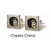 Tyler & Tyler Stencilart White Bricks Cufflinks Cheeky Chimp
