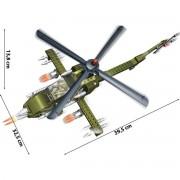 Stavebnice Banbao Defence Force vrtulník