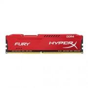 Memorija 8GB HyperX Fury DDR4-2400 CL15 UDIMM Kingston HX424C15FR2/8