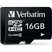Card de Memorie Verbatim microSDHC 16GB Class10