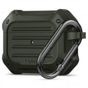 Spigen Pouzdro na sluchátka AirPods Pro - Spigen, Tough Armor Green