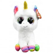 White Unicorn Pixy Regular Beanie Boos by TY