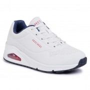 Сникърси SKECHERS - Stand On Air 73690/WNVR White/navy/Red