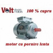 Motor electric monofazic 0.75KW Volt Motor pornire lenta Turatii 3000RPM cupru