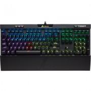 Геймърска механична клавиатура Corsair STRAFE RGB MK.2, CHERRY MX Silent