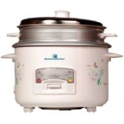 Kelvinator KRC-718 700-Watt 1.8-Litre Rice Cooker, Food Steamer(1.8 L, White)