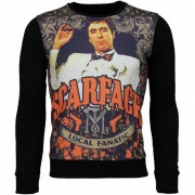 Local Fanatic Scarface Boss Sweater