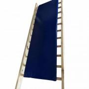 Saltea exercitii spalier gimnastica 185x60x3 cm, albastru