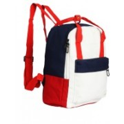Instabuyz Lightweight Laptop Bag in Backpack for Collage & School Canvas (White) School Bag(Red, 6 inch)