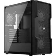 Carcasa SilentiumPC Regnum RG6V EVO TG ARGB Middle Tower ATX fara sursa black