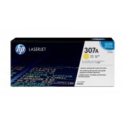 HP Color LaserJet CP5225 Ylw Crtg Contains one Yellow print cartridge that prints 7.3K each using ISO/IEC 19752 yield standards