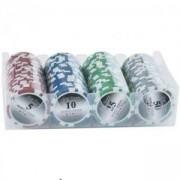 Комплект чипове за покер в кутия - SPARTAN, S7726