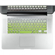Litop Silicone Keyboard Cover Keyboard Skin Jean Gradient Series for All MacBook Air 13 MacBook Pro WITH OR WITHOUT Re