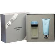 Dolce & Gabbana Light Blue Pour Femme Woda toaletowa 50ml spray + Krem do ciała 100ml