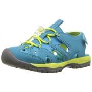 Northside Girls' Burke SE Sport Sandal, Blue/Lime, Size 10 M US Toddler