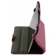 Synthetic Leather Flip Case with Multi-Angle Tilt Stand for Asus Google Nexus 7 2012 - Asus Leather Flip Case (Pink)