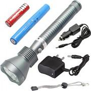 5 Mode Rechargeable Weatherproof 7W Long Beam LED Flashlight Torch Outdoor Lamp Torch Light Emergency Lights 1200 lumen