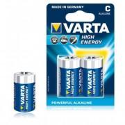Varta High energy c batterijen 2 stuks
