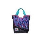 Bolsa Tote Sestini 15y02 Preto E Azul Monster High