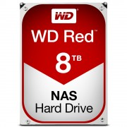 Western Digital WD Red NAS HDD 8TB 3,5' SATA 64MB 5400RPM