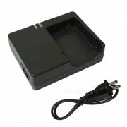 Cargador de bateria LP-E8 + cable cargador de EE.UU. para Canon LPE8 700D - negro