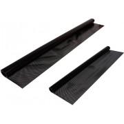 Folie auto raster perforat protecţie solară, 50 x 150 cm şi 75 x 150 cm, 1 set
