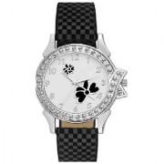 idivas 110 Black Velvet Women Analog watch for Girls and Ladies Watch - For Women