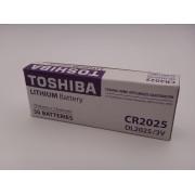 Toshiba CR2025 baterie litiu 3V Blister 5