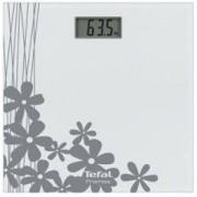Електронен кантар Tefal PP1070V0, Premiss Decor, LCD дисплей, До 150 килограма, Бял