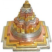 Colorful Meru Shree Yantra FOR PROSPERITY AND LUCK