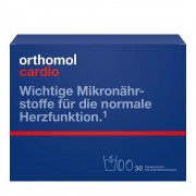 Orthomol Cardio Granulat/Tablette/Kapseln 30 St Tagesportionen
