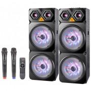 Преносима караоке система ZEPHYR ZP 9999 C10, 10 инча, Bluetooth, 2 бр. безжични микрофона