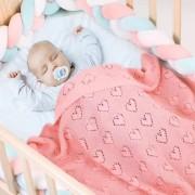 Baby Deken 100x80 100% Katoen