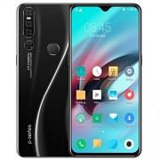 MeterMall Smartphones para niños, 6.3 Pulgadas P30 Pro Smartphone 6G RAM 128G ROM 4G Red Dual SIM Dual Standby 4800mAh Li-on Battery Android OS 9.1 System, Reglamento Europeo Negro